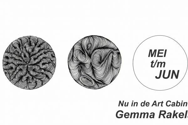 Mei t/m juni in de Art Cabin: Gemma Rakels!