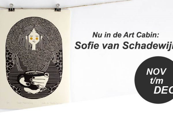 November t/m december in de Art Cabin: Sofie van Schadewijk!
