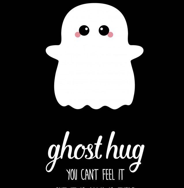 Ghost hug – Studio Inktvis