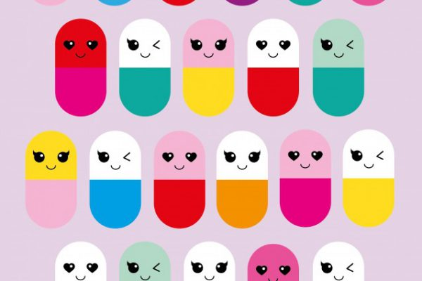 Happy pills – Studio Inktvis