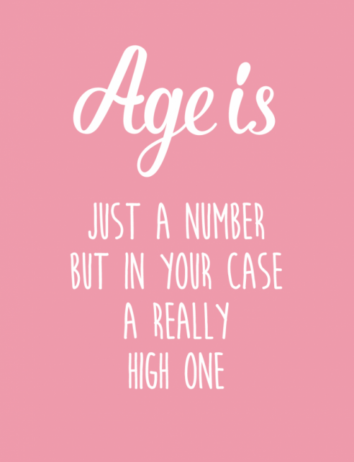 Age is just a number – Studio Inktvis