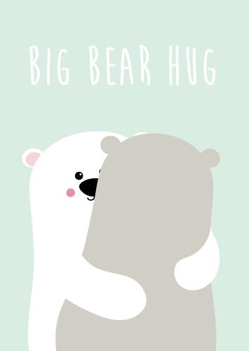 Big bear hug – Studio Inktvis
