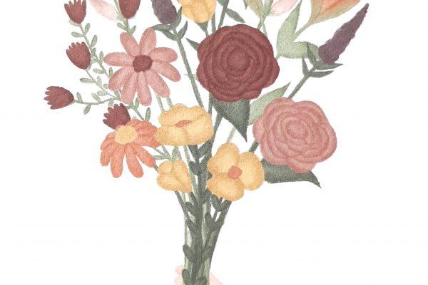 Bosje bloemen – ByShari