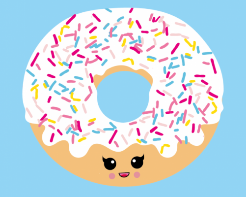 Donut give up – Studio Inktvis
