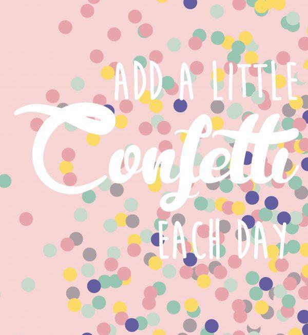 Add a little confetti – Studio Inktvis