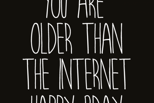 Older than the internet – Studio Inktvis