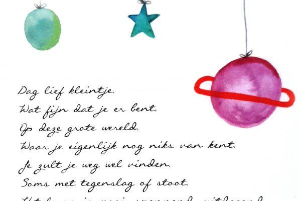 Dag lief kleintje – Vers van de Pers