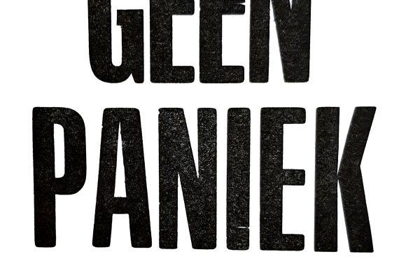 Geen paniek – Studio Zeedauw