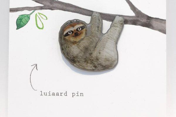 Pin Luiaard – Studiopie