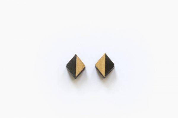 Houten knopjes Zwart – Desired Design