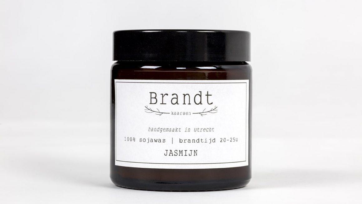 Geurkaars Jasmijn – Brandt Kaarsen