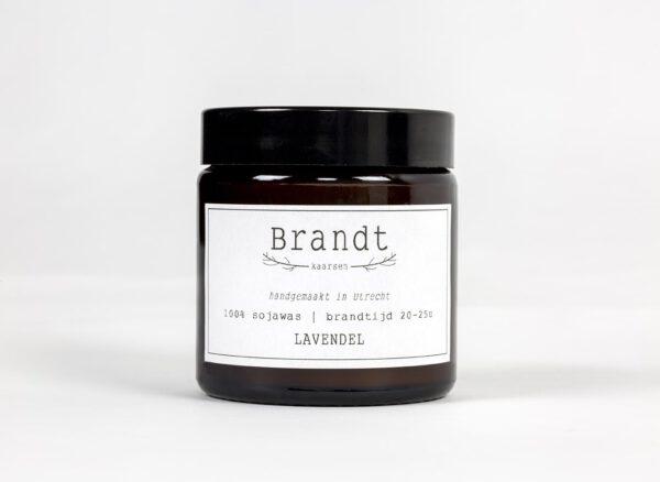 Geurkaars Lavendel – Brandt Kaarsen