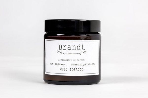 Geurkaars Wild Tobacco – Brandt Kaarsen