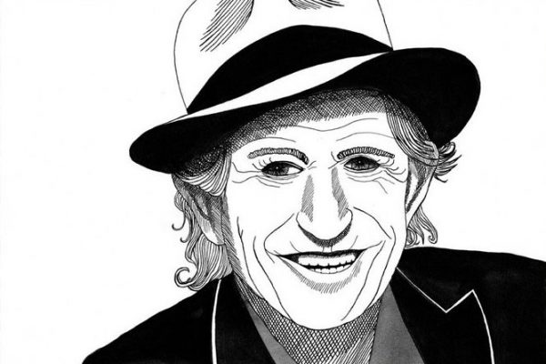 Portret Keith Richards – Ninatown