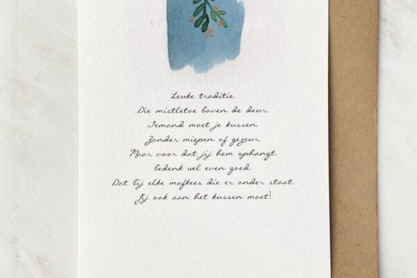 Kerstkus – Vers van de Pers