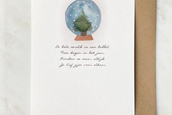 De hele wereld in een bubbel – Vers van de Pers