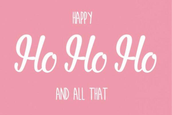 Ho ho ho and all that – Studio Inktvis