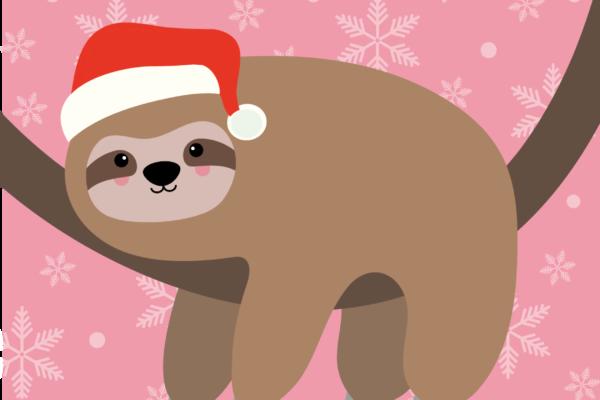 Slow down merry christmas – Studio Inktvis
