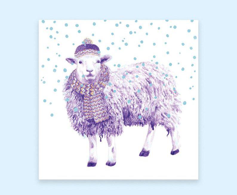 Kerst schaapje – Martine Beetz