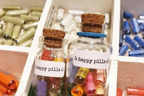 Flesje voor Happy pills – CollagEsenzo