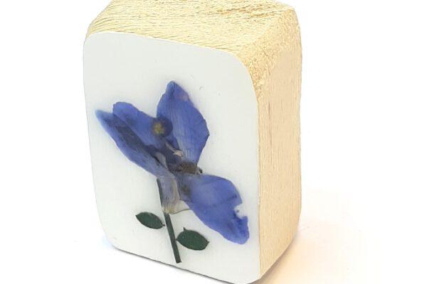 Mini houten blokje droogbloem nr.2 – Jeetje Design*