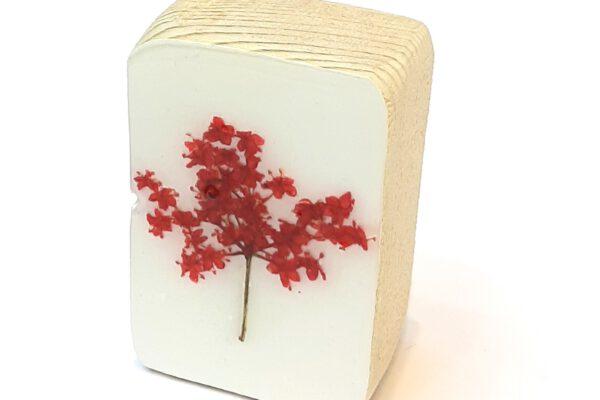Mini houten blokje droogbloem nr.6 – Jeetje Design*