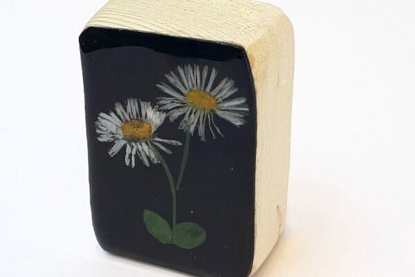 Mini houten blokje droogbloem nr.5 – Jeetje Design*