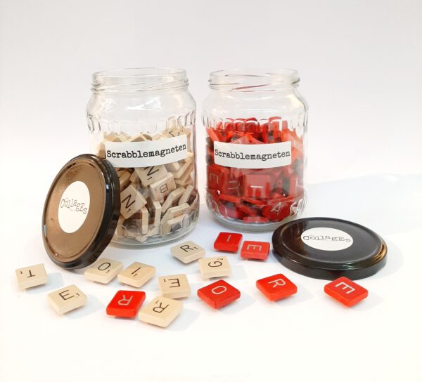 Scrabble magneten – CollagEsenzo