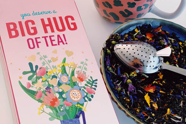 Giftbox 'Big Hug of tea' Thee – Curiositeas