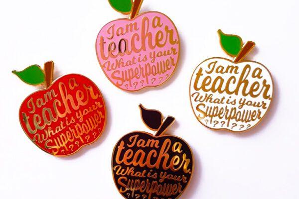 Pin Teacher – Studio Inktvis