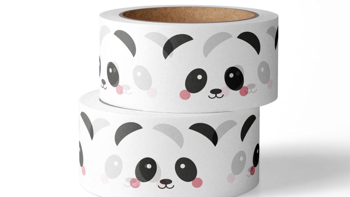 Washi tape Panda – Studio Inktvis
